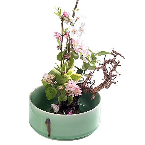 Soul Hill - Maceta de cerámica para decoración del hogar o para ventana, decoración de oficina, regalo, para bonsái, boda, cumpleaños, etc.