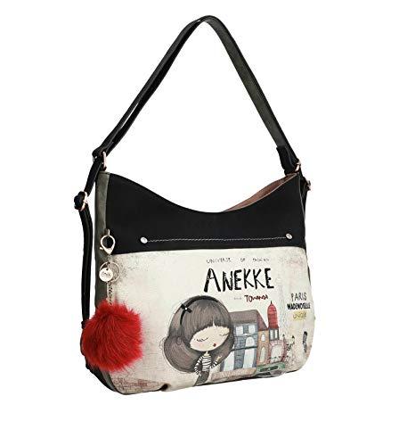 Anekke   Mochila para Mujer Convertible   Mochila con Bolsillos Interiores y Exteriores   Diseño Original para Todo Tipo de Ocasiones   Comoda y Versatil Ideal para el Día a Día