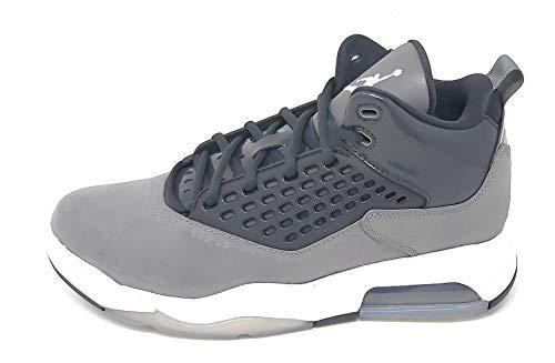 Jordan Maxin 200 Baloncesto Casual Zapatos Hombres Cd6107-002, Gris (Gris ahumado/Blanco/Gris humo), 42.5 EU
