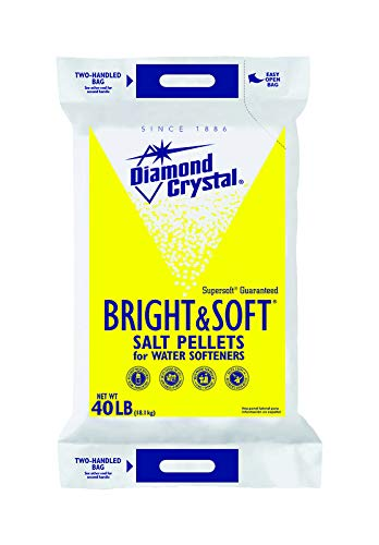 CARGILL SALT Water Softener Pellets Diamondcrystl 40, 1 EA