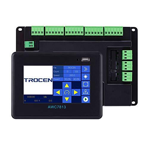 Trocen AWC7813 CO2-Laser-Controller-System DSP für Co2-Laser-Graviermaschine, ersetzen Ruida Leetro RDC6442 RDC6445
