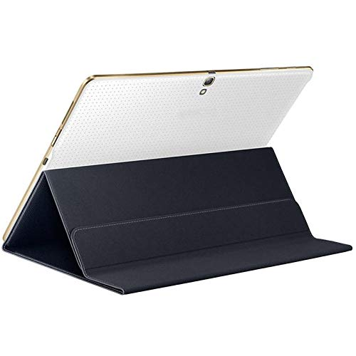 Ultra Slim Solid Magnetic Cover Case Stand voor Samsung Galaxy Tab S 10.5 Inch SM-T800 Tablet Accessoires #ZS Zwart