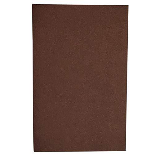Logo Non-Slip Rubber Furniture Pads, Selbstklebende, Filz Möbel Pad Roll, for Harte Oberflächen Heavy Duty Felt Protect The Floor Pads Streifen Mute Wear-Resisting (Color : Greyish Brown)