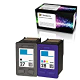 Get OCProducts Refilled HP 27 and HP 28 Ink Cartridge Replacement for HP Deskjet 3650 3845 PSC 1310 1315 2200 2171 Officejet 5608 (1 Black 1 Color) Just for $16.99