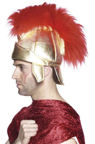 Römischer Soldatenhelm mit Helmbusch, One Size
