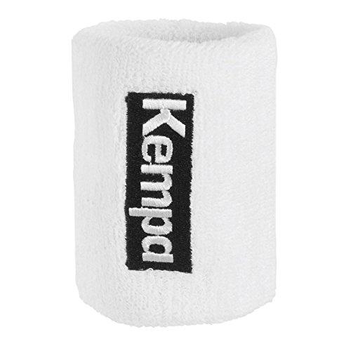 Kempa Schweißband 9 cm (1 Paar), Color:weiß