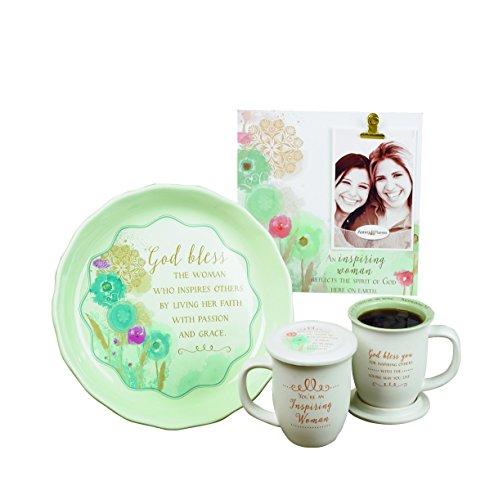 Abbey Gift Inspiring Woman Mug & Coaster Set