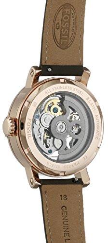Fossil Women's Original Boyfriend Stainless Steel and Leather Chronograph Quartz Watch