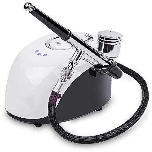 BNMMJ Dispositivo hidratación belleza Facial Spa Instrumento de inyección oxígeno a alta presión suplemento agua para blanqueamiento belleza en el hogar Nano Spray agua portátil en el hogar Cuidado