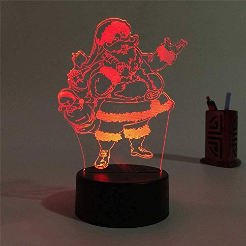 Snow Wedding S Cute Children 3D Illusion Lamp Suitable For Boys And Girls Bedroom Bar Living Room Birthday Christmas Gifts Usb Charging Touch Mode 7 Color Variations