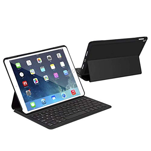 LEVREA Foldable Wireless Keyboard, Folding...