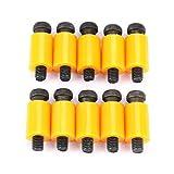 Tornillo de cabeza hueca con reborde Tornillo con reborde Perno de nailon resistente(D14 M8 screw thread)