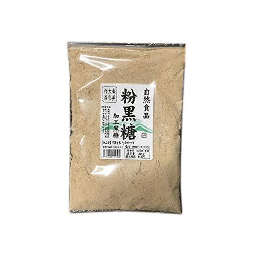 タマチャンショップ 黒砂糖粉末 黒糖 国産 1kg (250g×4袋)