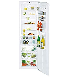 Réfrigérateur encastrable Liebherr IKB3560-21 - Réfrigérateur encastrable 1 porte - 301 litres - Froid brassé - Dégivrage automatique - Blanc - Classe A++ / Intégrable