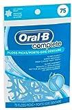 Pack de 75 aplicadores de hilo dental Oral-B, sabor menta