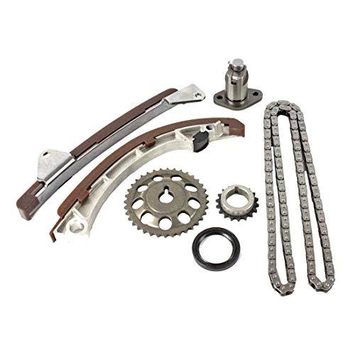 DNJ TK951 Timing Chain Kit for 1998-2008 / Chevrolet, Pontiac, Toyota/Celica, Corolla, Matrix, MR2 Spyder, Prizm, Vibe / 1.8L / DOHC / L4 / 16V / 110cid, 1794cc / 1ZZFE