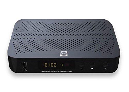 Wisi OR 630 HD Kabelreceiver DVB-C HDTV mit PVR Aufnahmefunktion auf externe Festplatte über USB Timeshift Wiedergabe
