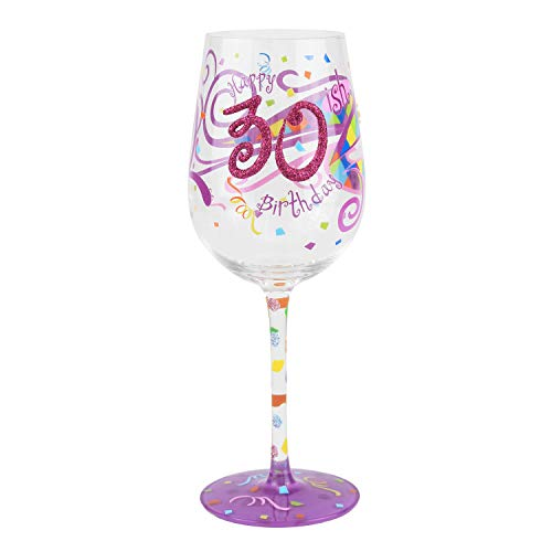 30-ish Birthday Wine Glass – Unique Gift Ideas for Wine Lovers