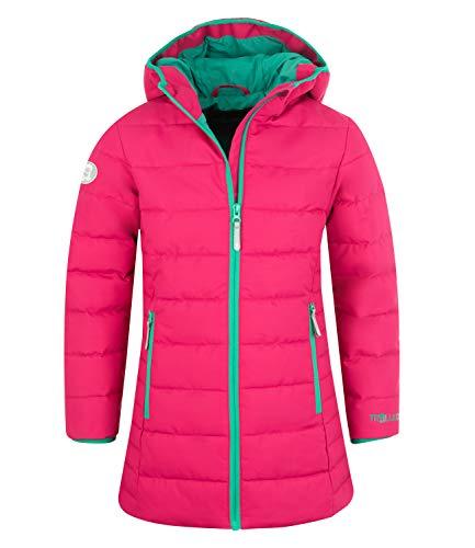 Trollkids Mädchen Wintermantel Winterjacke Stanavanger, Pink/Pfauengrün, Größe 104