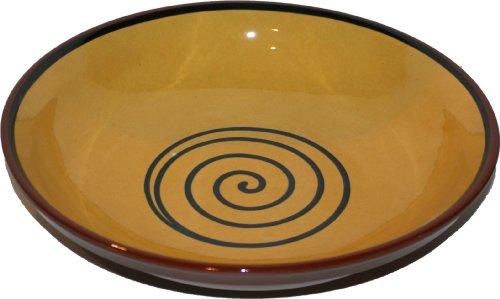 Amazing Cookware Bol Spirale 38 cm, Jaune/Vert