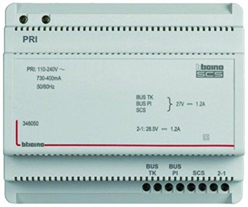 Seriële inbouwvoeding 2-draads voor audio- en video-deurintercom met videoadapter, 230 V/1,2 A.