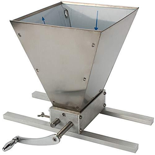 Mulino per cereali Mulino per malto regolabile Birraio per uso domestico Mulino 2 Rulli