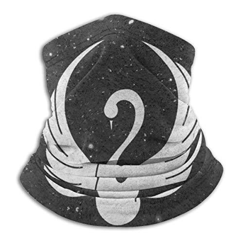NCH UWDF Grace Swan bufanda calentador de cuello suave microfibra Headwear cara bufanda cubierta para clima frío deportes de invierno al aire libre