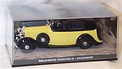 Universale Hobby James bond 007 rotoli royce phantom III goldfinger film scena auto 1:43 scala pressofuso modello