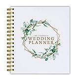 [New] Wedding Planner Green Floral - UK Bridal Planning Book Journal & Organising