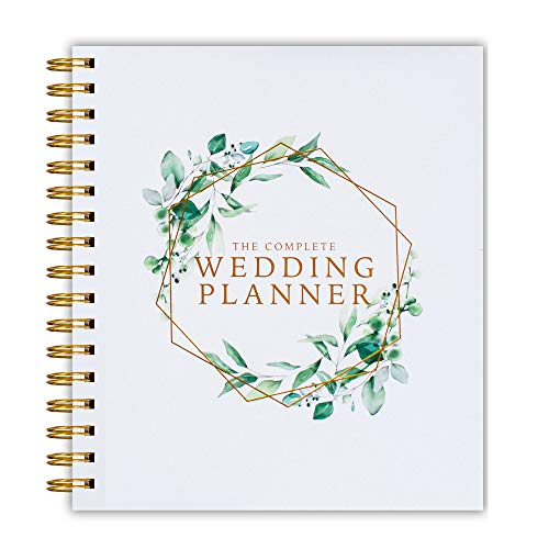 [New] Wedding Planner verde floreale – UK Wedding Planner Book Journal & Organizing, regalo di fidanzamento, conto alla rovescia