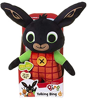Talking Bing Soft Toy 30cm, suitable from birth from Golden Bear Products Ltd