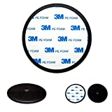Ramtech 90mm 3M PE Foam Tape Car Vehicle Truck Dash Dashboard Adhesive Sticky Suction Cup Mount Disc Disk Pad for Magellan RoadMate RV & RC Series GPS - DMD90