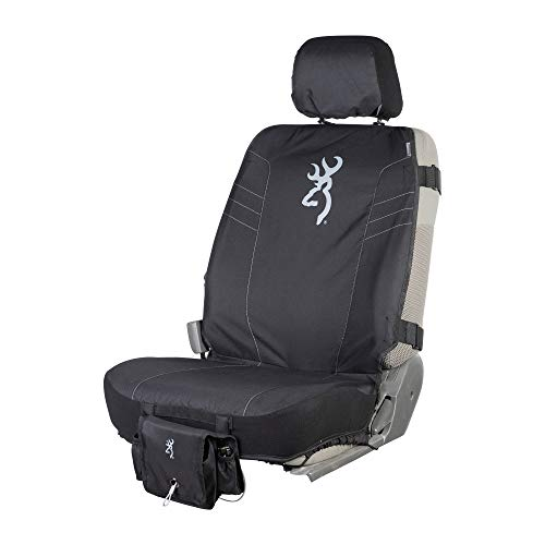 Browning Tactical Seat Cover | Low Back | Black 2.0 | Single