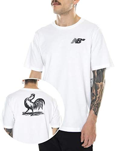 'New Balance Origins Camiseta de Manga Corta Color Blanco para Hombre