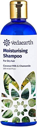 Glamorous Hub Vedaearth champú hidratante natural para cabello seco (el empaque puede variar)