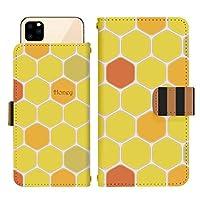AQUOS R3 SH-04L スライド式 手帳型 スマホケース スマホカバー dslide753(A) ハチ 蜂 はちみつ ハニー ハチの巣 アクオスフォン アクオスホン スマートフォン スマートホン 携帯 ケース アクオス アクオスR3 手帳 ダイアリー フリップ スマフォ カバー