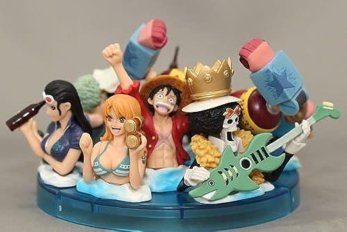 orden ahora disfrutar de gran descuento Tres figuras Piece (Luffy (Luffy (Luffy Zoro Nami Usopp Franky Robin Brooke Chopper Sanji) (japonesas Importaciones)  Sin impuestos