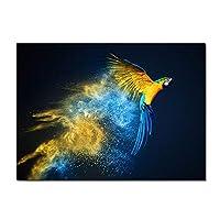キャンバスポスター、壁画、壁画キャンバス絵画アートプリント鳥高騰ポスター絵画壁アート絵画リビングルーム装飾フレームレス-フレームレス40x60_B