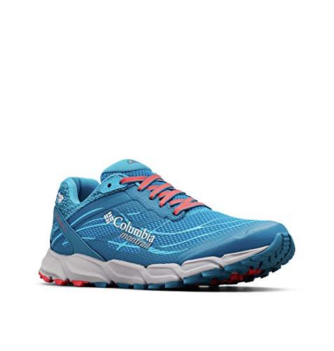 Columbia Damen Caldorado III Outdry Trailrunning-Schuh, Blau (Deep Ocean, Red 458), 37 EU