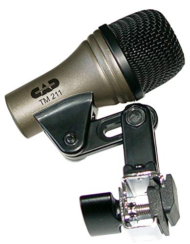CAD TM211 MIC MICROPHONE FOR TOM FLOOR TOM BONGO CAJON DYNAMIC
