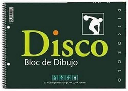 BLOC DIBUJO Fº DISCO 160-R 2/TALADROS