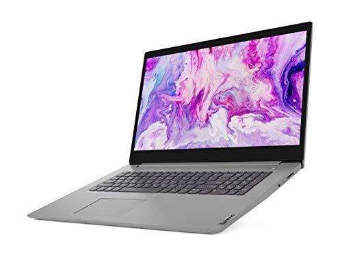 "2020 Lenovo IdeaPad 3 17.3"" HD+ LED Backlit Anti-Glare Display Laptop PC, Intel Core i5-1035G1 Quad Core Processor, 8GB RAM, 256GB SSD, HDMI, 802.11AC, Bluetooth, Webcam, Windows 10, Platinum Gray"