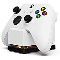 POWER A Wireless Controller Charging Stand for Xbox Series X|S, Xbox One - Xbox Series X (White)
