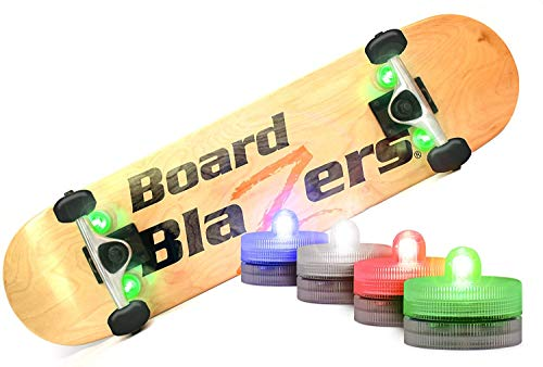 Board Blazers, The Original LED Underglow Lights for Skateboards, Longboards, Self Balancing Scooters & Kick Scooters