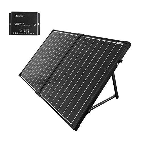 Acopower 100W 20A 12V Portable Solar Panel Kit