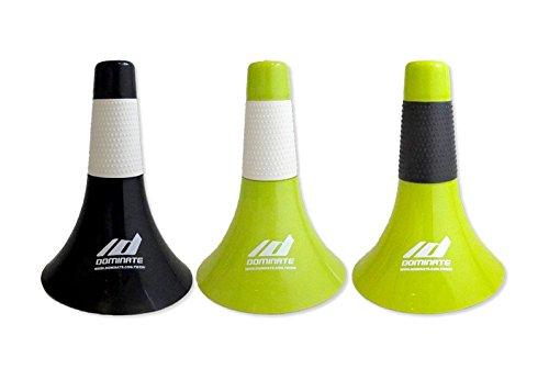 10 Pack Black + White Grips Dominate Basketball Cones (Rip Cone) Lip Cone Authentic