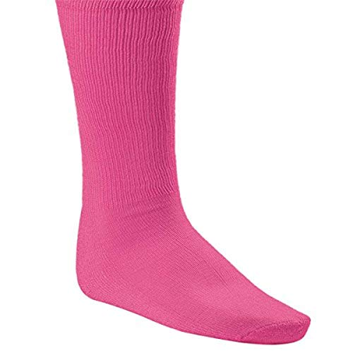 Champion Sports Rhino All Sport Athletic Socks, Neon Pink, X-Large (13-15)