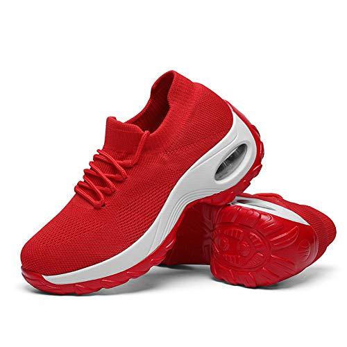 Tenis Rojos marca TANTOO