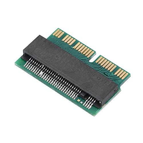Tarjeta adaptadora SSD a M.2 NGFF, SSD a M.2 NGFF Convert Adaptador de tarjeta de interfaz compatible con 22 * 80 mm de tamaño de M.2 NGFF PCIe x4 AHCI SSD para 2013 2014 2015 MACBOOK Air/Pro