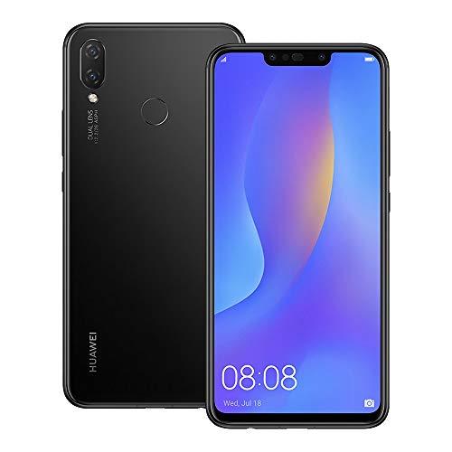 Huawei nova 3i (INE-LX2) 4GB / 128GB 6.3-inches Dual SIM Factory Unlocked - International Stock No Warranty (Black)
